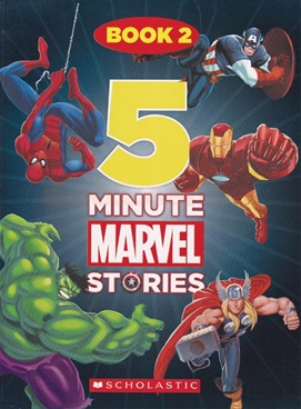 5 Minute Marvel Stories Book - 2