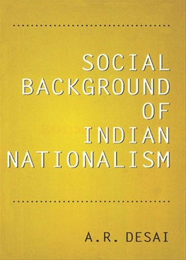 Social Background of Indian Nationalism (6th-Edn)
