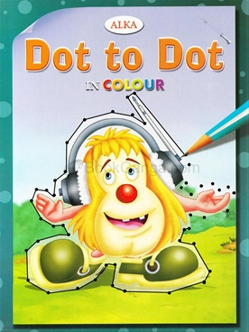 Dot To Dot In Colours (Dark Green)
