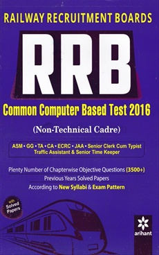 RRB Common Computer Based Test 2016