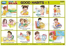 Pick 'n' Stick Good Habits - 1