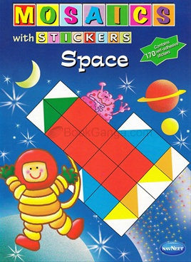 Mosaics With Stickers - Space