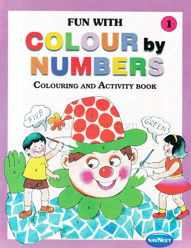 Colour By Numbers Book - I