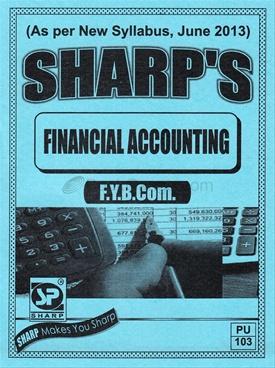 Financial Accounting - F.Y.B.Com