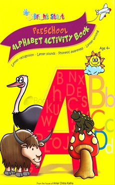 Preschool Alphabet Activity Book