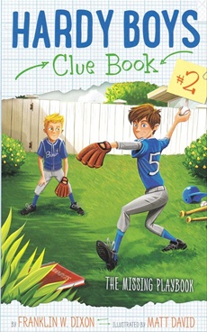 Hardy Boys Clue Book The Missing Playbook