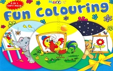 Fun Colouring 5 Book Set
