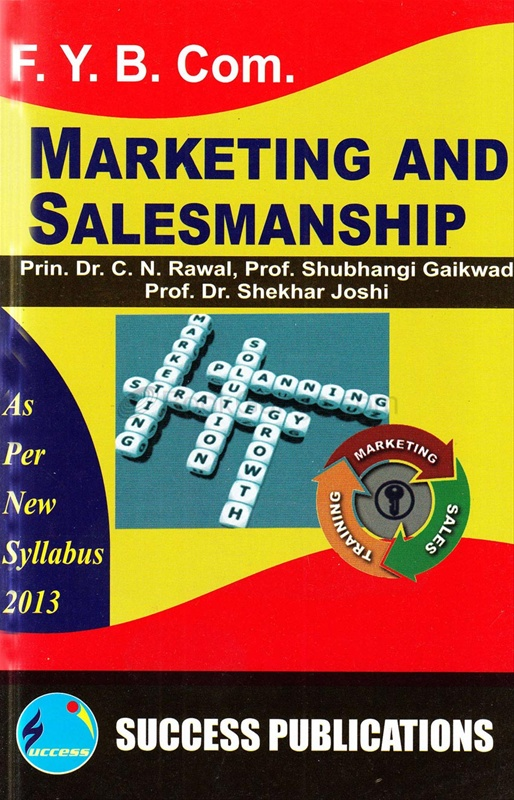 Marketing And Salesmanship