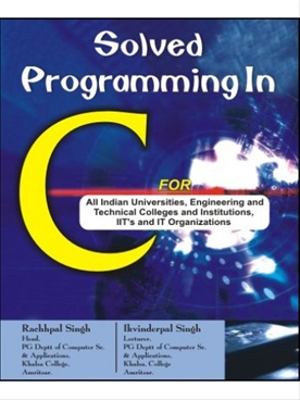 Solved Programming in C