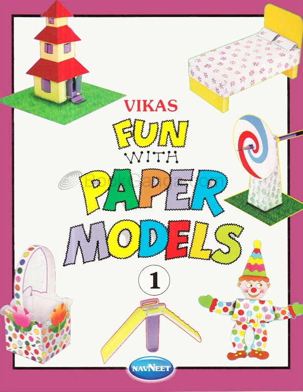 Vikas Fun With Paper Models Book - 1