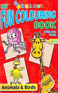 My Fun Colouring Book Animals & Birds
