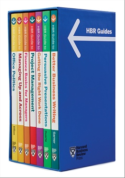 HBR Guides Boxed Set (7 Books) (HBR Guide Series )