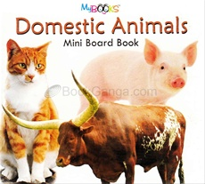 Domestic Animals Mini Board Book