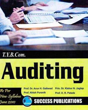 Auditing T.Y.B.Com
