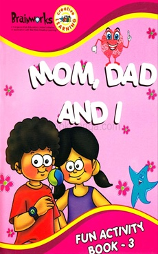 Mom,Dad and I Fun Activity Book - 3
