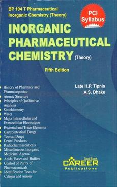 Inorganic Pharmaceutical Chemistry (Theory)