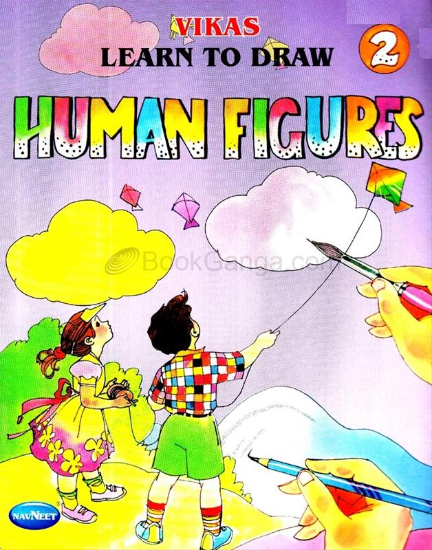 Vikas Learn To Draw Human Figures 2