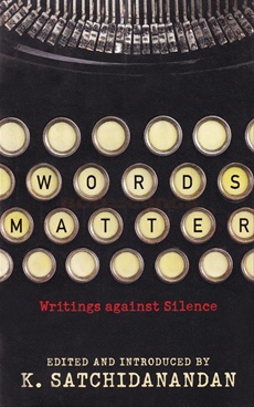 Words Matter Writings Against Silence