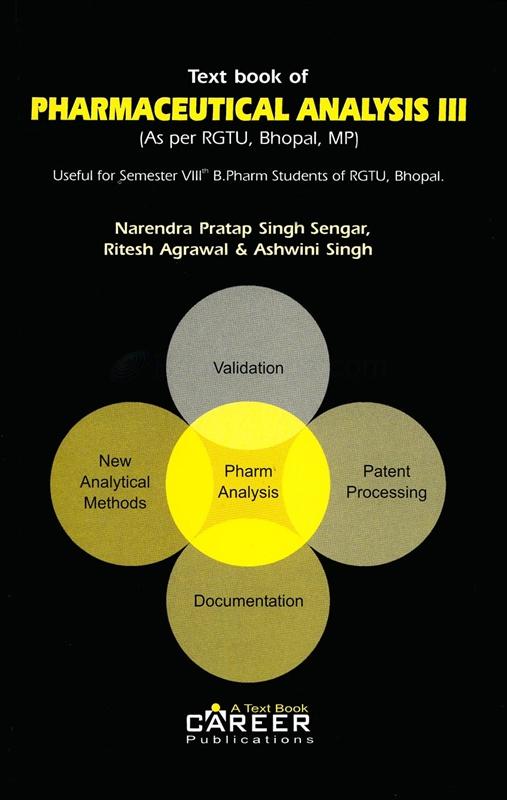 Text Book Of Pharmaceutical Analysis III