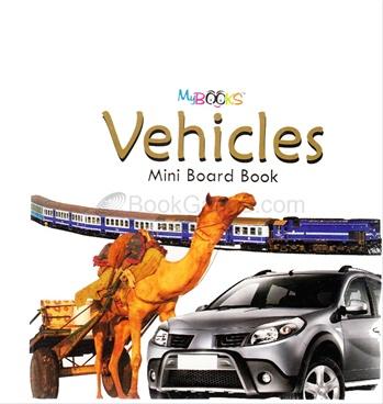 Vehicles Mini Board Book