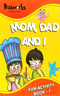 Mom,Dad and I Fun Activity Book - 1
