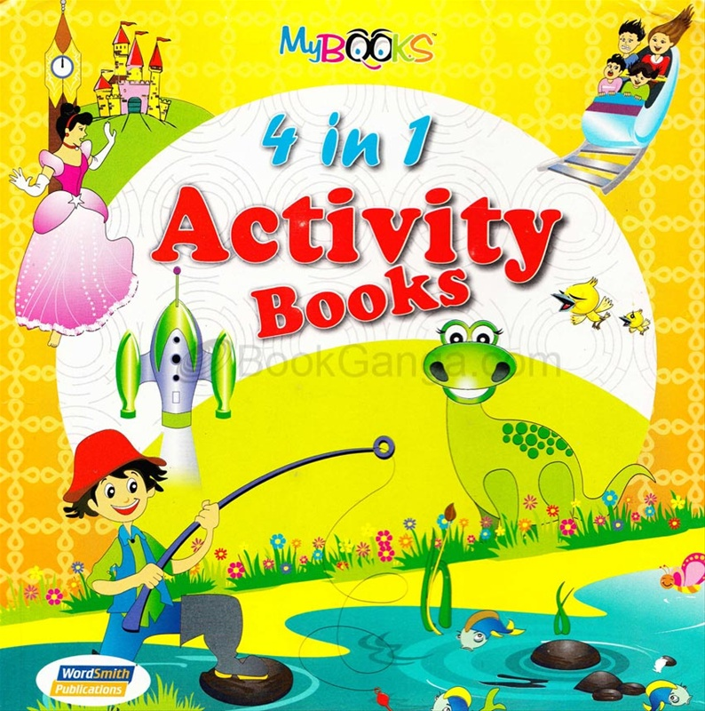 4 In 1 Activity Books