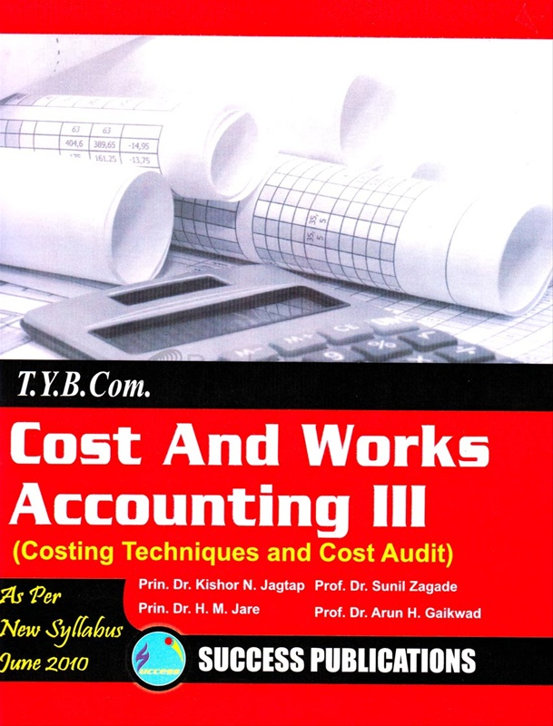 Cost And Works Accounting III