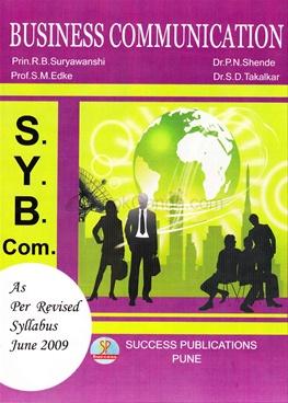 Business Communication - S.Y.B.Com