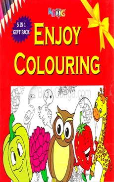 Enjoy Colouring 5 Book Set