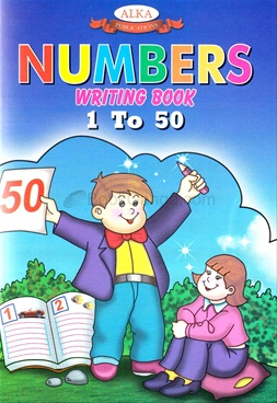 Number Writing Book (1 to 50)