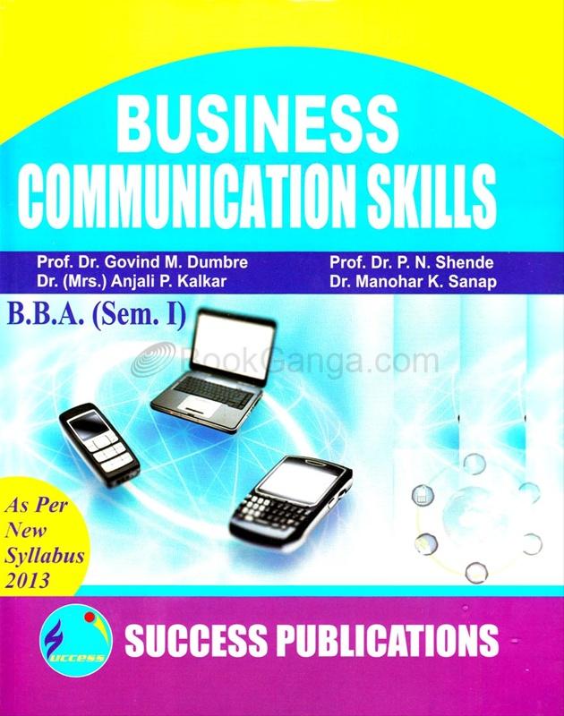 Business Communication Skills B.B.A. (Sem. I)
