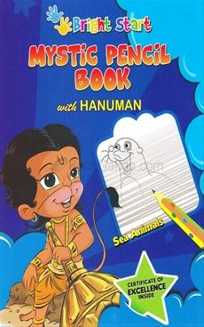 Mystic Pencil Book With Hanuman Sea Animals