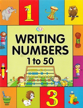 Writing Numbers 1 To 50