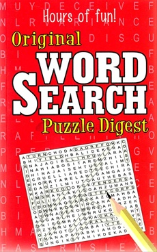 Original Word Search Puzzle Digest (Red)