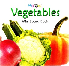 Vegetables Mini Board Book