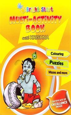 Multi - Activity Book With Krishna