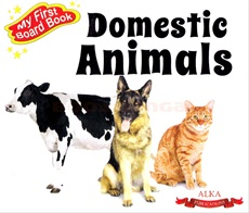 My First Board Book Domestic Animals