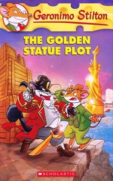 Golden Statue Plot : Geronimo Stilton 55
