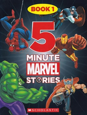 5 Minute Marvel Stories Book - 1