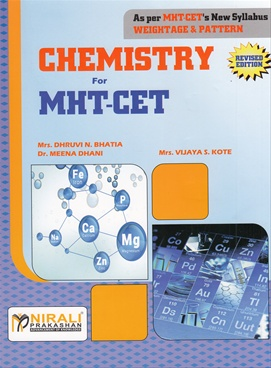 Chemistry For MHT-CET