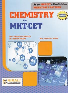 Chemistry For MHT-CET