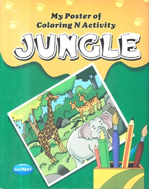 My Poster Of Coloring And Activity - Jungle