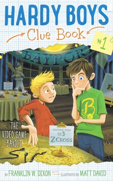 Hardy Boys Clue Book Video Game Bandit