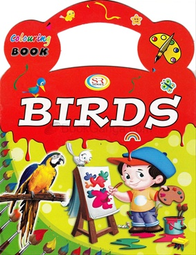 Colouring Book - Birds