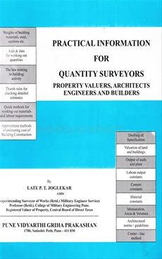 Practical Information For Quantity Surveyors
