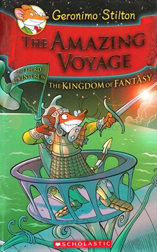 Amazing Voyage Book: The Kingdom Of Fantasy