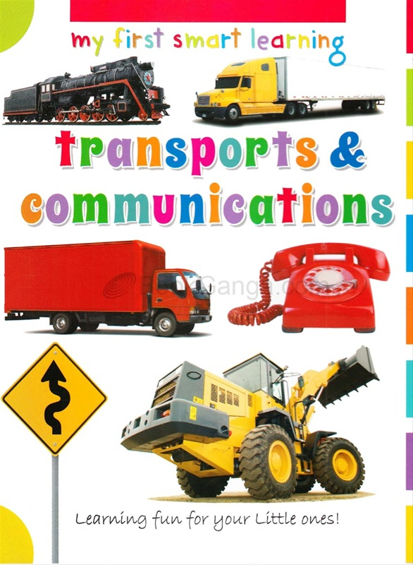 My First Smart Learning Transports & Communications