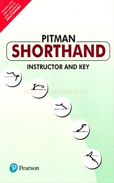 Pitman Shorthand Instructor And Key Pearson Education Bookganga Com