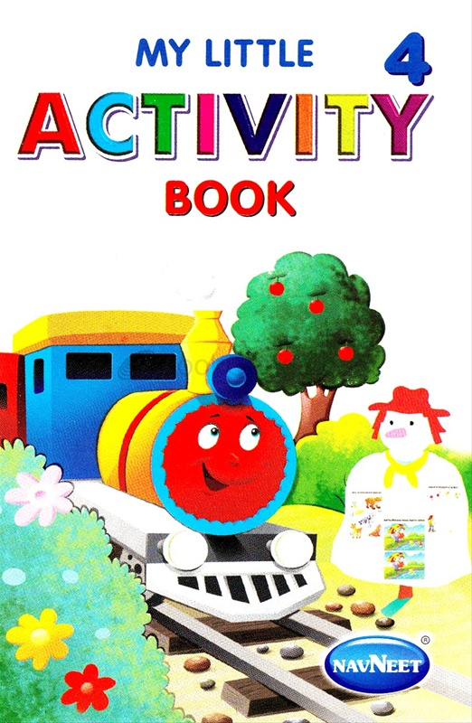 My Little Activity Book - 4