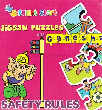 Jigsaw Puzzle With Ganesha Safety Rules